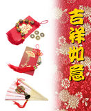 Chinese New Year Decorations. Close Up Stock Photos