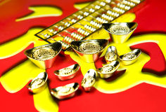 Chinese New Year decorations. Chinese New Year traditional decorations stock image