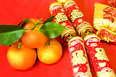 Chinese New Year decorations. Chinese New Year traditional decorations stock images