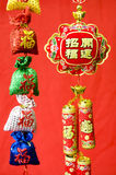 Chinese New Year decorations. Chinese New Year traditional decorations royalty free stock image