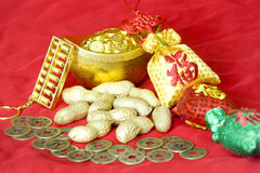 Chinese New Year decorations. Chinese New Year traditional decorations royalty free stock photo