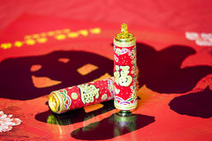Chinese New Year decorations. Chinese New Year traditional decorations royalty free stock photography