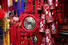 Chinese New Year Decorations royalty free stock photos
