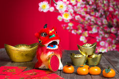 Chinese new year decorations Stock Image