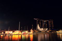 Singapore -Chinese New Year decorations Royalty Free Stock Images