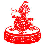 Chinese New Year Dragon Stock Photography