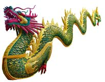Chinese Dragon On White Background Stock Photo - Image of ...