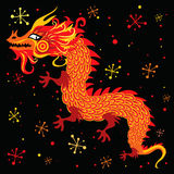 Chinese New Year Dragon. Postcard Stock Images