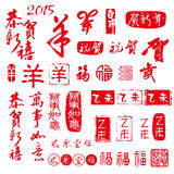 The Chinese new year element Stock Photography