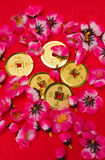 Chinese New Year - Emperor's Coins Ornaments II stock image
