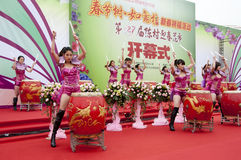 Chinese New Year Festivities Show Stock Photos