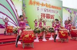 Chinese New Year Festivities Show Stock Photo