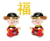Chinese New Year Figurines Stock Photography