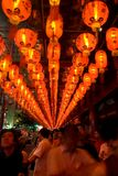 Chinese New Year first offerings Royalty Free Stock Image