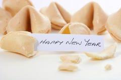 Chinese New Year Fotune Cookies Stock Photo