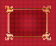 Chinese New Year frame Stock Illustration
