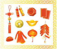 Chinese new year gift royalty free illustration