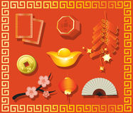 Chinese new year gift stock illustration