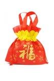 Chinese new year gift bag Stock Photo
