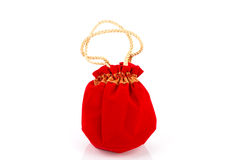 Chinese New Year Gift Bag and decoration Royalty Free Stock Photos