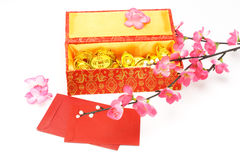 Chinese new year gift box Stock Photography