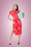 Chinese new year gift Royalty Free Stock Photo