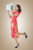 Chinese new year gift Royalty Free Stock Photography