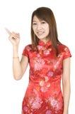 Chinese new year girl Stock Photos