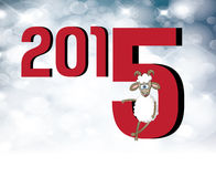 2015 Chinese New Year of the Goat Stock Photo