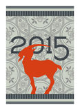 2015 Chinese New Year of the Goat Royalty Free Stock Image
