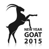 Chinese New Year 2015 of goat. Vector EPS10 Stock Images