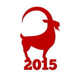 Chinese New Year of the Goat 2015. Royalty Free Stock Photo