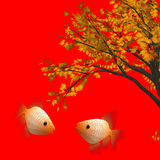 Chinese new year graphic and background Stock Images