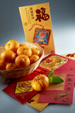 Chinese New Year Greeting stock photography