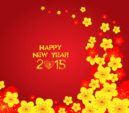 Chinese New Year - Greeting card design. Chinese New Year Greeting Card Stock Image