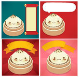 Chinese New Year Greeting card. EPS10 Royalty Free Stock Image