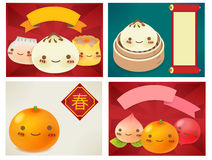 Chinese New Year Greeting card. EPS10 Stock Photography
