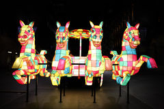 Chinese New Year - The Horse royalty free stock images