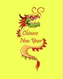 Chinese new year icon. Vector illustration, EPS 10 Stock Photos