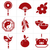 Chinese new year icon Royalty Free Stock Image
