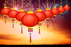 Chinese New Year. Illustration of Chinese New Year Royalty Free Stock Photo