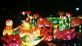 CHINESE NEW YEAR LANTERN CARNIVAL Stock Photo