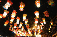 Chinese new year lantern festival Royalty Free Stock Photography