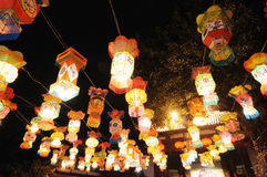 Chinese new year lantern festival Stock Images