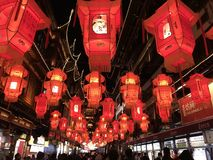 Chinese New Year. Chinese lantern festival royalty free stock images