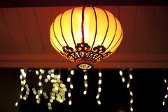 Chinese new year lanterns Royalty Free Stock Photos