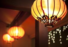 Chinese new year lanterns Royalty Free Stock Image