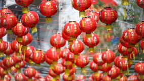 Chinese new year lanterns with blessing text. Chinese new year lanterns with blessing text mean happy ,healthy and wealth