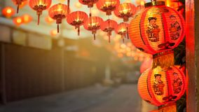 Free Chinese New Year Lanterns In China Town. Royalty Free Stock Photography - 107643217