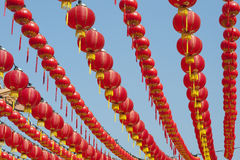 Chinese New Year lanterns. Stock Photo